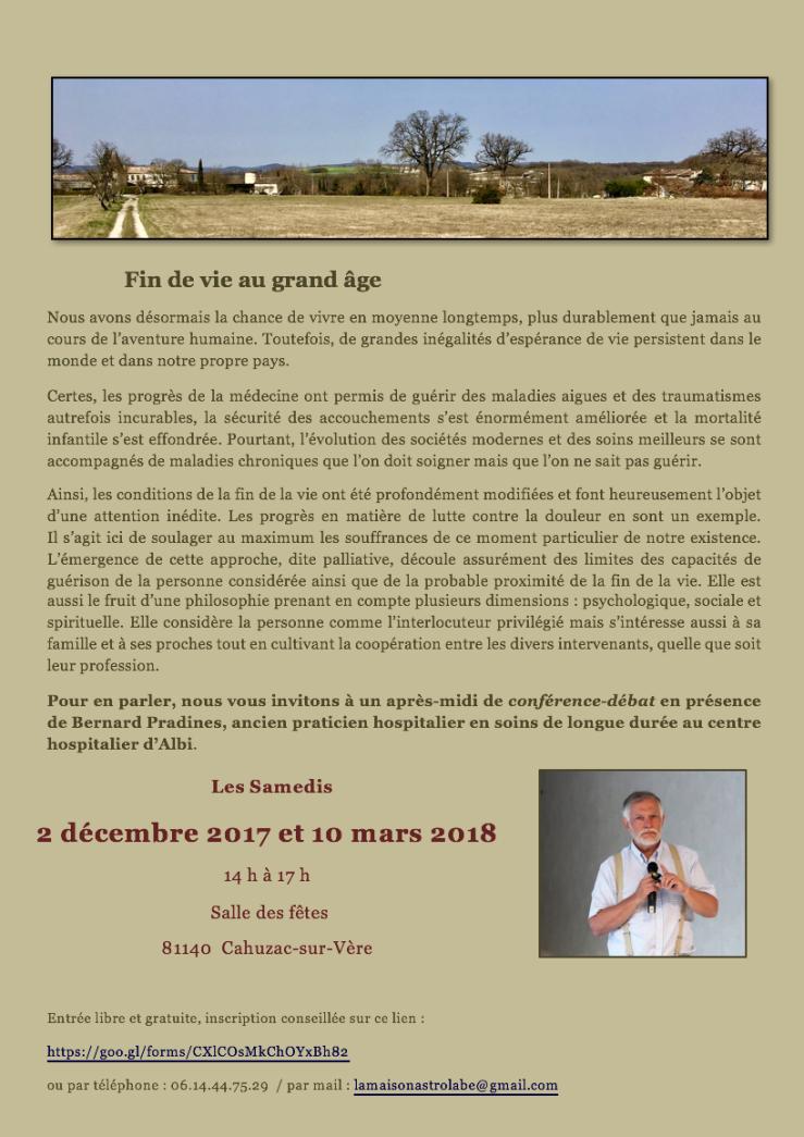 Dr Pradines Conférences 2017:2018