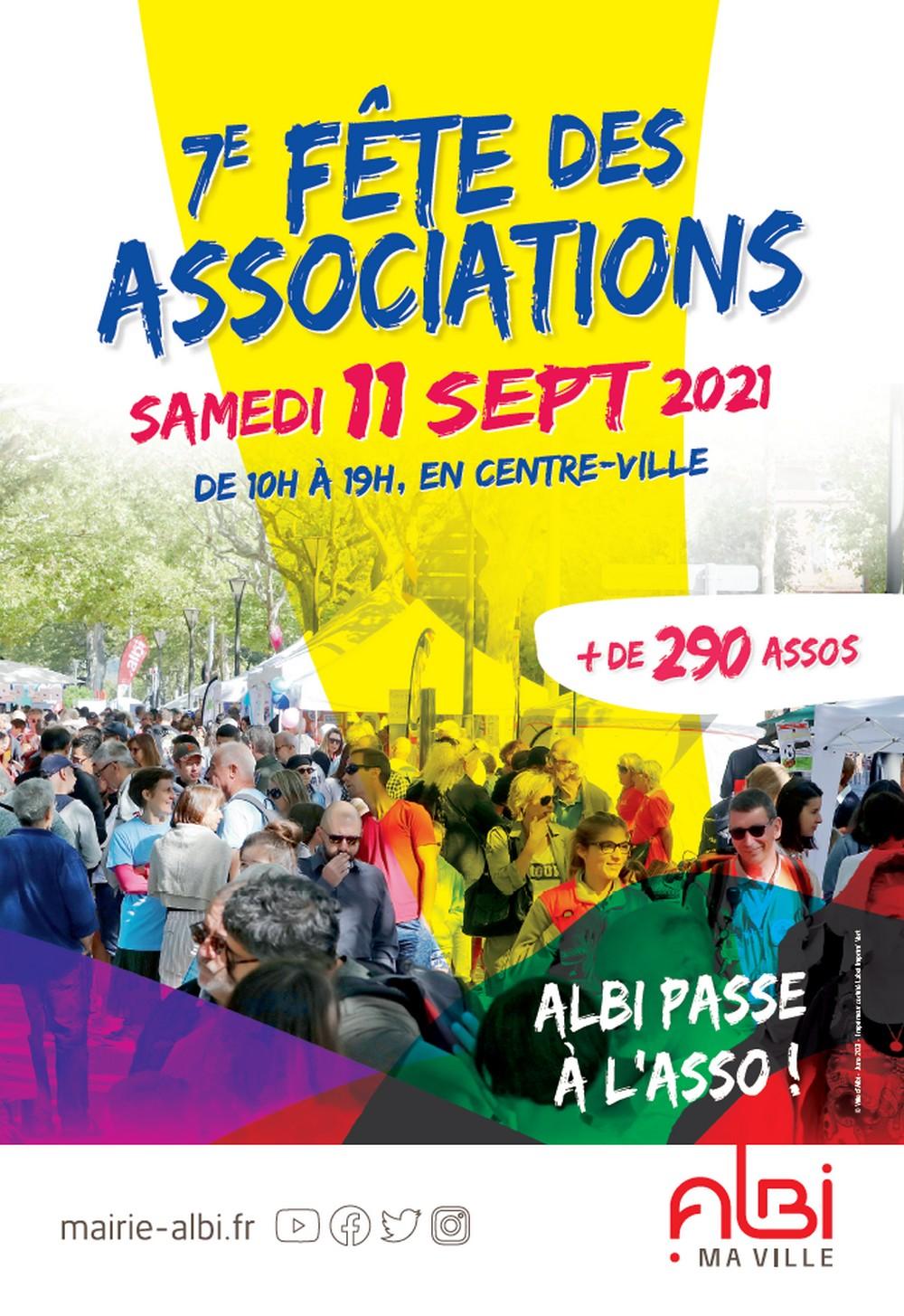 Retrouvez l'ASP à la fête des associations le 11 septembre 2021
